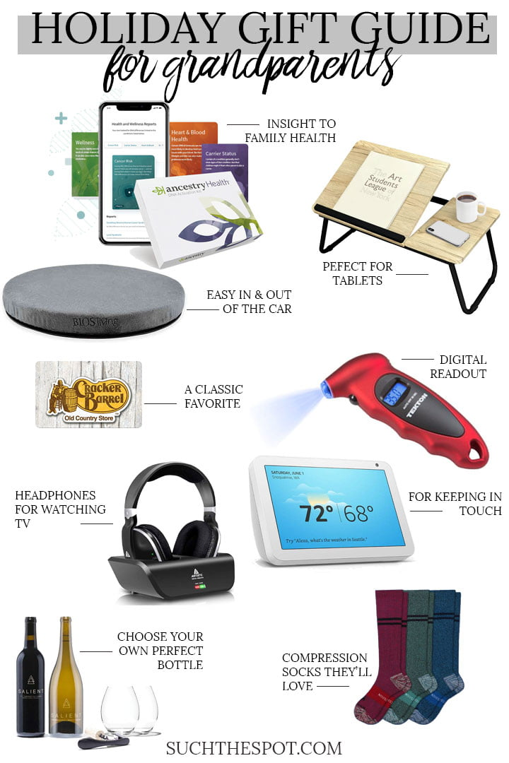 gift guide for grandparents